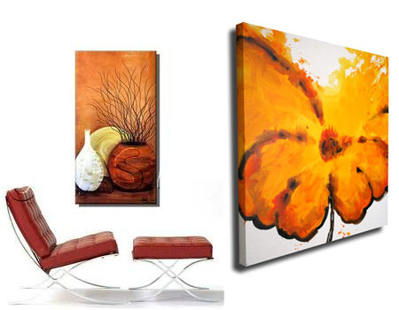 Wall  Canvas on Contemporary Canvas Art Wall Art Decor Art Group Oil Painting For